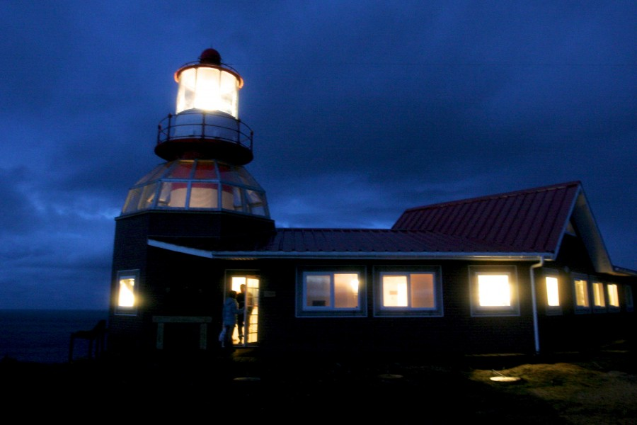 The lighthouse on cape horn chile