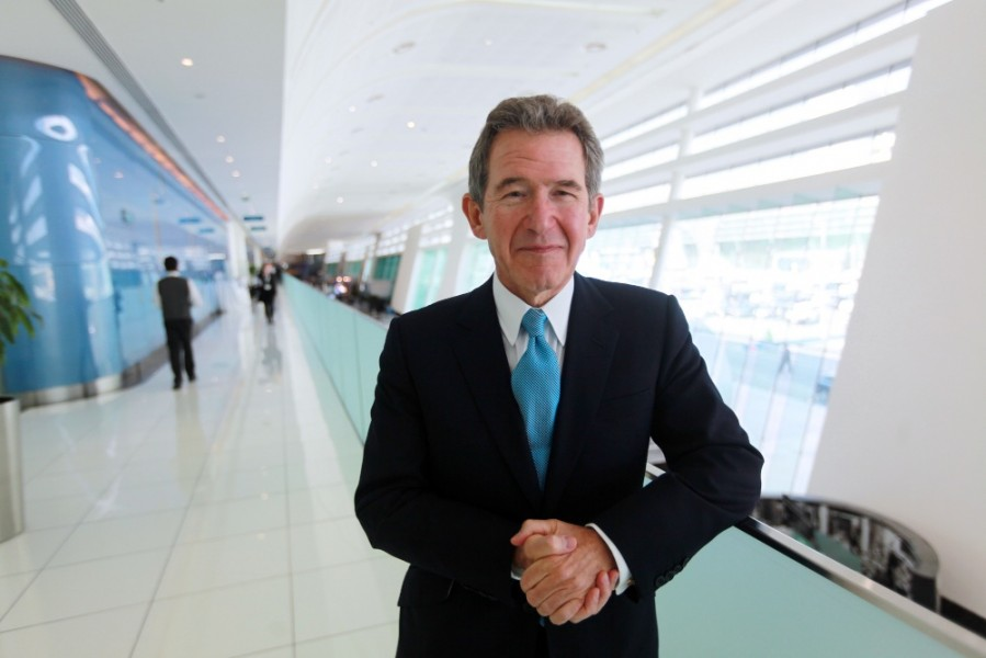 Lord John Browne, President of the Royal Academy of Engineering, at the World Future Energy Summit in Abu Dhabi, United Arab Emrates.