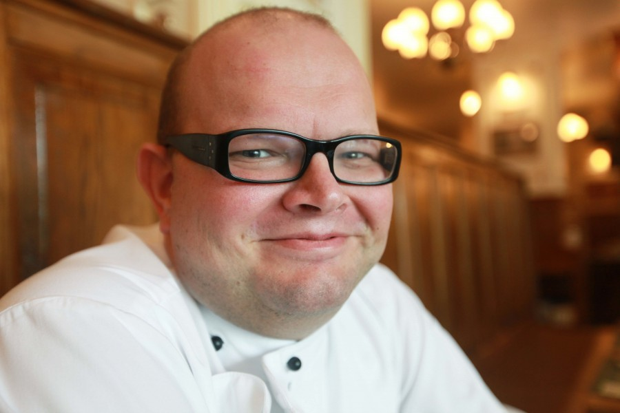 Chef Yves Bas of the Belgian Cafe at the Intercontinental Hotel in Abu Dhabi, United Arab Emirates